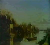 vue de la vallee de quincampoix by jules amédée louis fleury