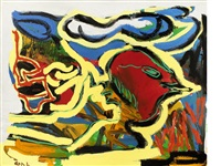 in a state of frenzy no. 2 by karel appel