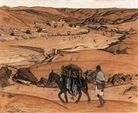 tazoult et la vallée de sektana by jacques majorelle