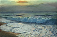 ocean glow by julius olsson