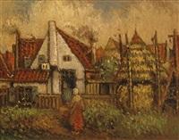 memory of old noordwijk by henri van daalhoff