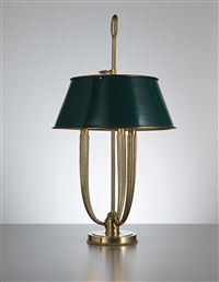 bouillotte table lamp by émile jacques ruhlmann