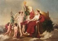 allégorie de la savoie by françois barthélemy marius abel