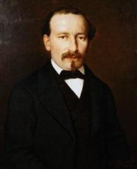 portrait of a gentleman by pierre louis de coninck