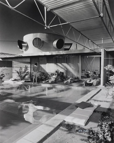 frey house palm springs california by julius shulman