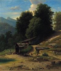 kalkofen bei den kugelmühlen bei salzburg by paul korzinek (korsinek)