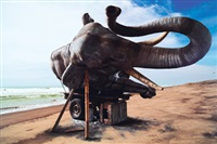 sleeping elephant in the axis of yogyakarta: parang kusumo beach by wimbo ambala bayang