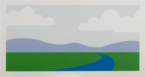 landscape by julian opie
