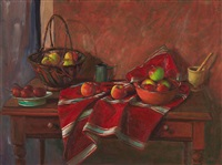 still life with apples by margaret hannah olley