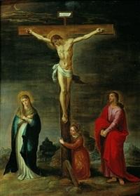la crucifixion by pieter lisaert iv
