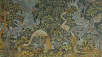 heron birds by i ketut sepi