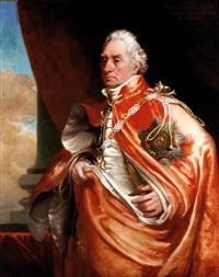 portrait of admiral george keith elphinstone, 1st viscount keith by george lethbridge saunders