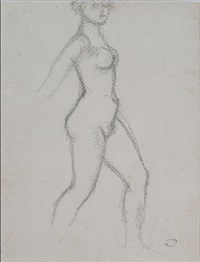 nu marchand by aristide maillol