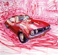 red xb ii by ben quilty