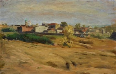 suburban pennsylvania landscape by walter stuempfig