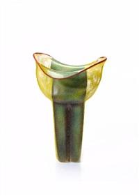 free-formed vase by mieke groot