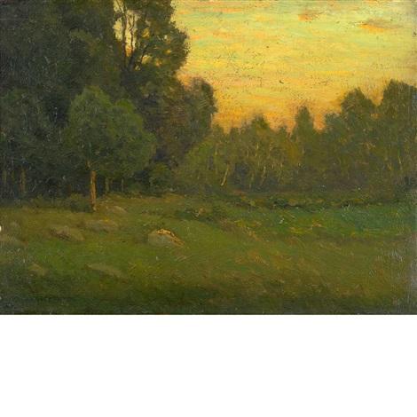 dusk by charles warren eaton