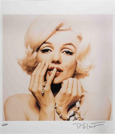 marilyn au collier by bert stern