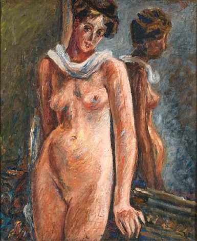 standing nude by alexis paul arapov