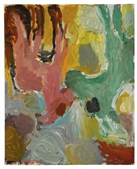 zwei rehe by georg baselitz