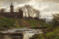 dunblane cathedral by david farquharson