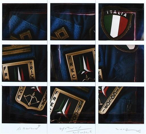 frecce tricolori by maurizio galimberti