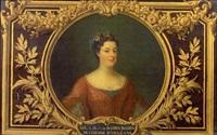 portrait de auguste marie jean baden-baden, duchesse d'orléans by joseph albrier