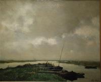 paisaje lacustre by jacques witjens