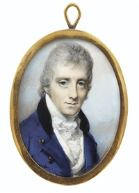 portrait d'homme by george engleheart