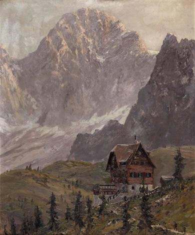 gebirgslandschaft by viktor gutmann