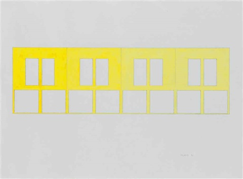 untitled (four doors) by gary hume