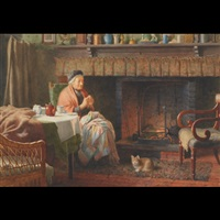 by the fireside by henry edward spernon tozer