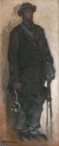 mineur russe by nikolai alexeievich kasatkin