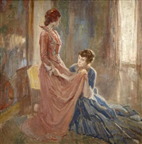the fitting by alfred henry maurer