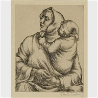 mother and child by paul cadmus