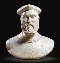 bust of a man by giovanni antonio dosio
