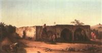 caravansérail au liban by pierre-francois lehoux