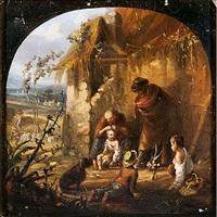 familia de campesinos by leonardo alenza y nieto