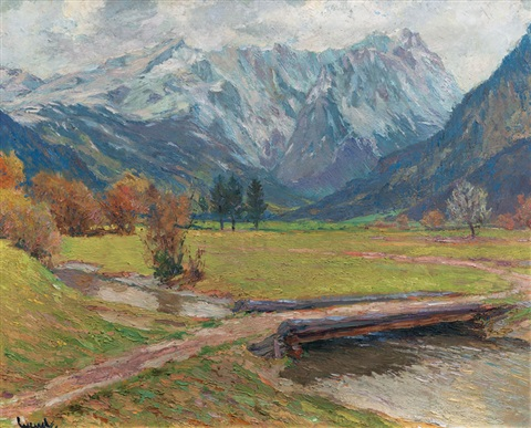 the zugspitze by edward cucuel