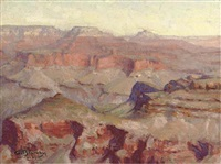 the grand canyon by alfred gunnar bjareby