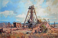 the west australian shaft, kalgoorlie by henry mclaughlin