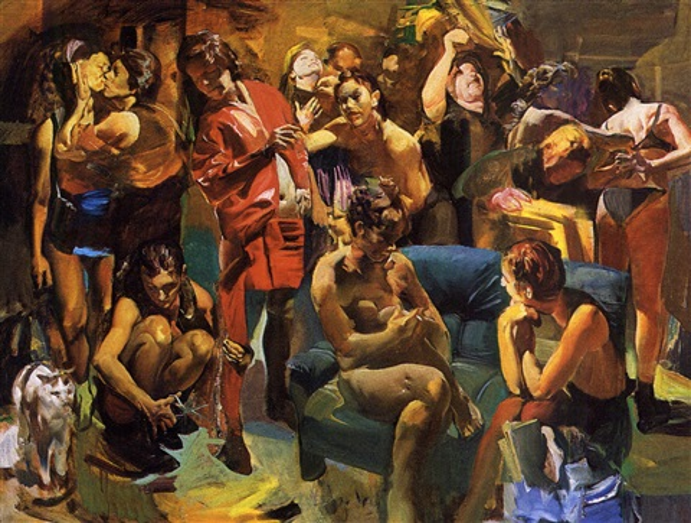 assemblée de femmes by tibor csernus