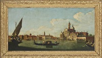 a view of the isola san clemente, venice by francesco tironi