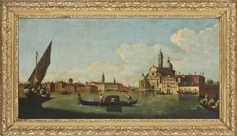 a view of the isola san clemente venice by francesco tironi