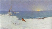 winter sunrise by charles henry hayden