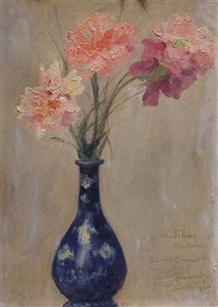 flowers in a vase by georges picard