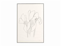 cyclamen v (from plant lithographs) by ellsworth kelly