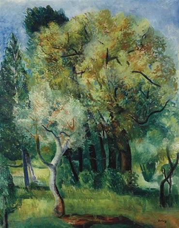 paysage de provence by moïse kisling