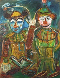 clowns by maryati affandi