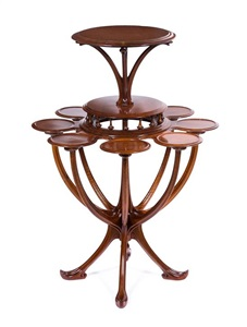 pedestal table by pierre selmersheim